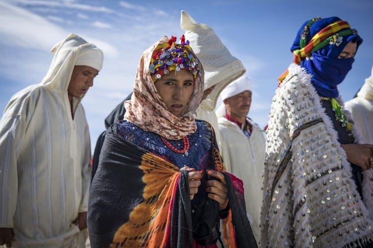 Une cérémonie de mariage berbère